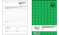 sigel Formularbuch Bewirtungsspesennachweis, A5, 50 Blatt