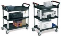 smartboxpro Etagenwagen/Servierwagen, 3 Etagen, groß