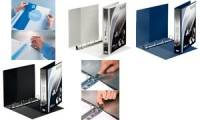 LEITZ Präsentations-Ringbuch SoftClick, A4 Überbreite, weiß