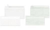MAILmedia Briefumschlag DIN lang, weiß-transparent