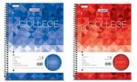 LANDRÉ Collegeblock College DIN A5, liniert, 80 Blatt