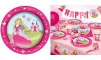 SUSY CARD Papp-Teller Princess , Durchmesser 230 mm