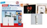 tesa Powerstrips Bilder-Nagel, weiß, Haltekraft: max. 1 kg