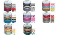 folia Deko-Klebeband Washi-Tape JAPAN FLAIR, 4er Set