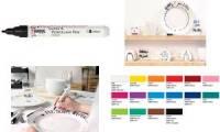 KREUL Glass & Porcelain Pen Classic, lapisblau