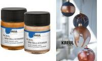 KREUL Acryl-Metallicfarbe, goldbronze, 50 ml