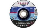 DRONCO Trennscheibe AS46T Inox Cut+Grind, 115 mm, 5er Pack
