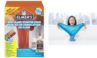 ELMER'S Slime Set Mini Slime Starter Pack, 4-teilig