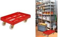 keeeper Transportwagen rolf, Tragkraft: 300 kg, rot