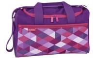 herlitz Sporttasche Pink Cubes, aus Polyester