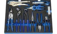 HEYTEC Modul*** Zangensatz für Werkstattwagen, 10-teilig
