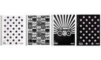 LANDRÉ Collegeblock MUSIC & STARS, DIN A4, kariert, 80 Blatt