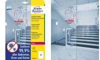 AVERY Zweckform Antimikrobielle Etiketten, 210 x 297 mm