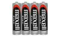 maxell Zink Batterie, Mignon AA, 4 Pack Shrink
