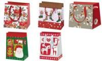 SUSY CARD Weihnachts-Geschenktüte Robin, klein
