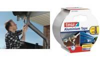 tesa Aluminium Reparatur-Klebeband, 10 m x 50 mm