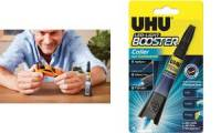 UHU Reparatur-Klebstoff LED-LIGHT BOOSTER, 3 g Tube