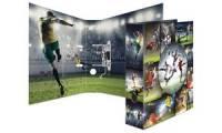 HERMA Motivordner Fußball, Rückenbreite: 70 mm, DIN A4