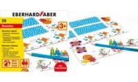 EBERHARD FABER Domino-Spiel zum Ausmalen, inkl. Buntstifte