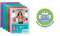 ELBA Präsentations-Sichtbuch POLYVISION, 20 Hüllen, farblos