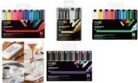 POSCA Pigmentmarker PC-8K, 8er Etui, farbig sortiert