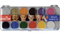 KREUL Schminkkasten Fantasy Make Up, 12 Farben