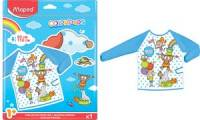Maped Kinder-Malschürze COLOR'PEPS, für Größe 82 - 110 cm