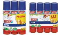 tesa ecoLogo Stick Klebestift, 4er Pack, 20 g