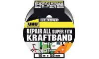 UHU Kraftband Repair all, (B)50 mm x (L)10 m, silber