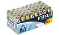 maxell Alkaline Batterie, Mignon AA, 32er Display