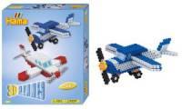 Hama Bügelperlen midi 3D Flugzeuge, Geschenkpackung