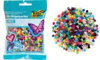 folia Bügelperlen, farbig sortiert, 2.000 Stück, Beutel