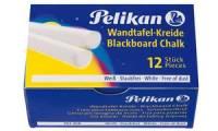 Pelikan Wandtafelkreide 755/12, weiß, Kartonetui