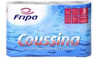 Fripa Küchenrolle Coussina, 3-lagig, weiß