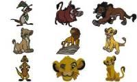 KWM Applikation König der Löwen - Simba Kopf