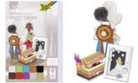 folia Glitterpapier, 170 g/qm, 240 x 340 mm, farbig sortiert
