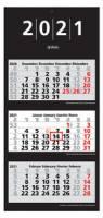 herlitz 3-Monats-Wandkalender 2021