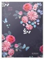 herlitz Schülerkalender Basic Flowers, 2019/2020, DIN A5