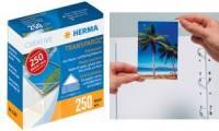 HERMA Transparol Foto-Ecken, Inhalt: 250 Stück