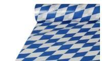 PAPSTAR Folien-Tischdecke Bayrisch Blau, (B)1,0 x (L)20 m