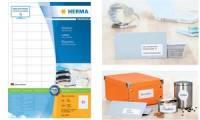 HERMA Universal-Etiketten PREMIUM, 70 x 33,8 mm, weiß