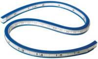 WESTCOTT Flexibles Kurvenlineal, Länge: 400 mm (16)