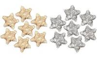 PAPSTAR Streuschmuck Wired Stars, gold