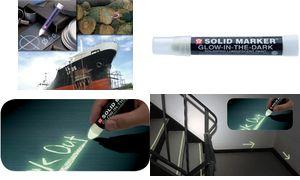 Mal- & Zeichenmaterialien für Kinder 0084511385320 Sakura Industriemarker ´Solid Marker Glow in the Dark´