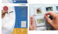 HERMA Diahüllen für Kleinbilddias 5 x 5 cm, klar, aus PP