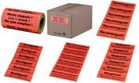SMARTBOXPRO Hinweis-Etikettenrolle Rechnung innenliegend