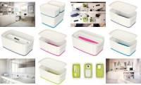 LEITZ Aufbewahrungsbox My Box, 5 Liter, weiß/pink