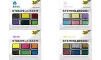 folia Stempelkissen Set Basic, 6-farbig sortiert